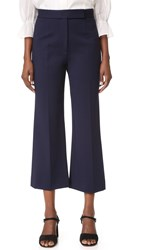 Marc Jacobs Cropped Knit Pants Navy