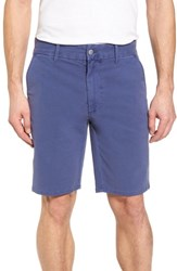 Joe's Jeans Brixton Trim Fit Straight Leg Shorts Marina Blue