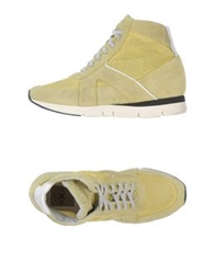 O.X.S. High Tops And Trainers Military Green
