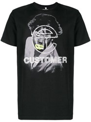 Telfar Graphic Print T Shirt Black