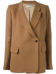 Each X Other Single Breasted Coat Brown