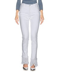 Attic And Barn Jeans White