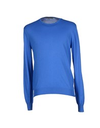 Become Knitwear Jumpers Men Bright Blue