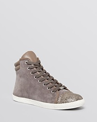 Delman Sneakers Merge With Metallic Toe Stone