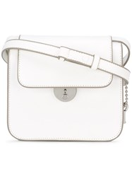 Maison Martin Margiela Structured Shoulder Bag White