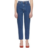 See By Chloe Blue High Rise Jeans