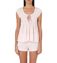 Bodas Cami And Shorts Pyjama Set Blush Pink
