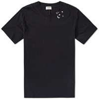 Saint Laurent Sl Star Tee Black