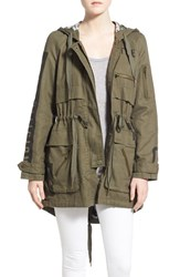 Women's True Religion Brand Jeans Military Parka