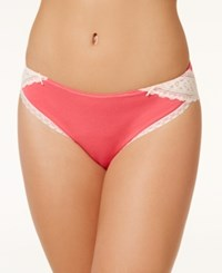 Maidenform One Fab Fit Tanga Hipster Dmcs59 Panache Pink