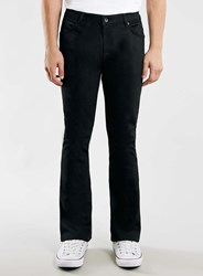 Topman Black Stretch Flare Jeans