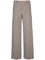 Theory High Rise Wide Leg Trousers 60