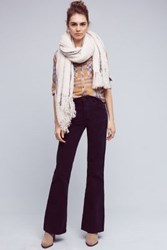 Anthropologie Pilcro Script High Rise Flare Cords Navy