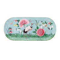 Pip Studio Blushing Birds Rectangle Cake Tray Blue