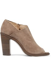 Rag And Bone Mabel Suede Ankle Boots Gray
