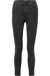 Madewell High Rise Skinny Jeans Charcoal