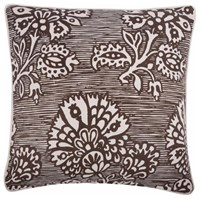 Thomas Paul Fragments Wax Print Pillow Blue Brown Grey