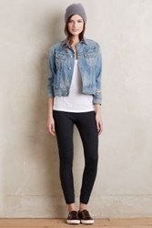 Anthropologie Pointelle Sweater Leggings Dark Grey