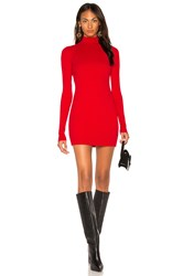 Cotton Citizen The Ibiza Mini Dress Red