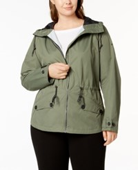 Columbia Plus Size Regretless Waterproof Jacket Cypress
