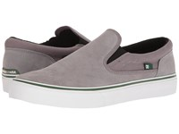 Dc Trase Slip On Sd Grey Green Skate Shoes White