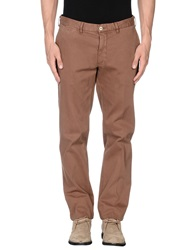 Luigi Bianchi Mantova Casual Pants Brown