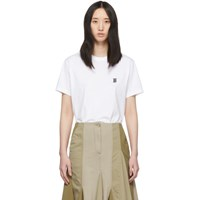 Burberry White Core T Shirt