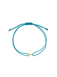 Natasha Collis Nugget Friendship Bracelet Blue