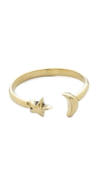 Pamela Love Moon Age Ring Antique Gold