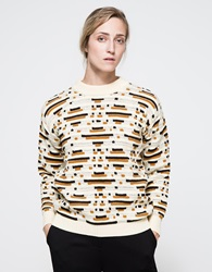Callahan Abstract Crewneck Black Multi