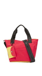 Bag Studio Small Tote Red Blue Yellow