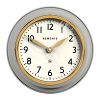 Newgate The Cookhouse Ii Wall Clock Matt Grey