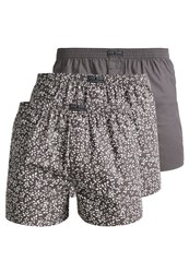 Pier One 3 Pack Boxer Shorts Grey Blue