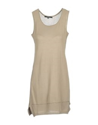 Snobby Sheep Short Dresses Khaki