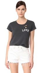 Zadig And Voltaire Love Tee Carbon
