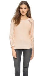 Generation Love Lulu Shredded Sweater