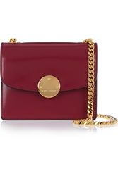 Marc Jacobs Trouble Mini Glossed Leather Shoulder Bag