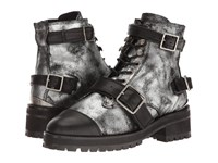The Kooples Vintage Shiny Leather Silver Women's Boots