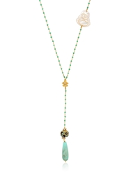 Katerina Psoma Rosary Necklace Multi