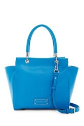 Marc By Marc Jacobs Bentley Leather Winged Double Shoulder Bag Blue
