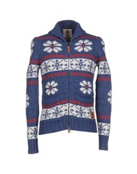 Franklin And Marshall Cardigans Blue