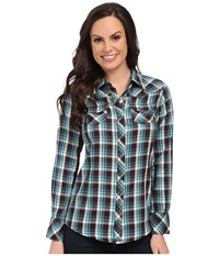 Ariat Fields Snap Shirt Multi Women's Long Sleeve Button Up