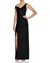 Abs By Allen Schwartz One Side Off The Shoulder Gown Black