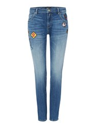 Replay Katewin Slim Fit Jeans Blue