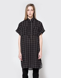 Hope Lost Blouse Black Check