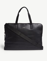 Knomo Mayfair Luxe Leather Briefcase Black