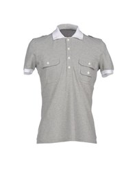 Class Roberto Cavalli Topwear Polo Shirts Men Grey