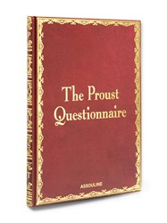 Assouline The Proust Questionnaire Book Red
