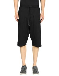 Public School 3 4 Length Shorts Black