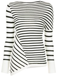 Kitx Street Stripe Knit Top Black